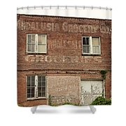 Andalusia Grocery Co Shower Curtain