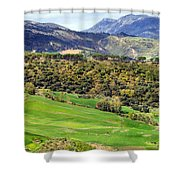 Andalusia Landscape Shower Curtain