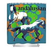 Andalusian Shower Curtain