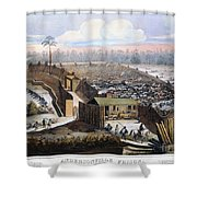 Andersonville Prison, 1864 Shower Curtain