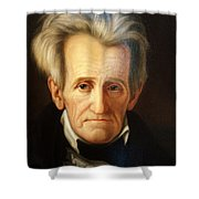 Andrew Jackson, 7th American President Shower Curtain