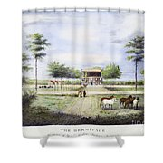 Andrew Jackson: Hermitage Shower Curtain