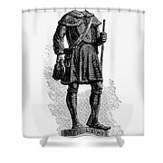 Andrew Lewis (1720-1781) Shower Curtain by Granger