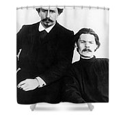 Andreyev And Gorki Shower Curtain