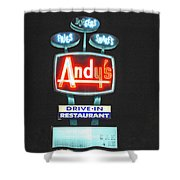 Andy's Drive-in Shower Curtain