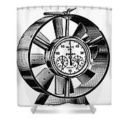 Anemometer, 20th Century Shower Curtain