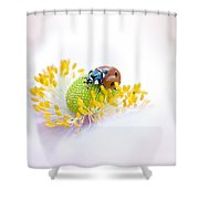 Anemone Lady Shower Curtain