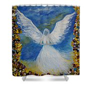 Angel Among Us Shower Curtain