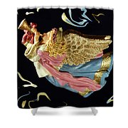 Angel Art Shower Curtain by Aimee L Maher Photography and Art Visit ALMGallerydotcom