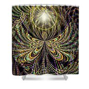 Angel In The Midst Shower Curtain