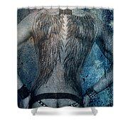 Angel Nude  Shower Curtain