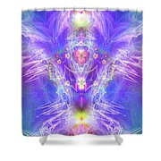 Angel Of Ascension Shower Curtain