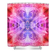 Angel Of Compassion Shower Curtain