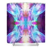 Angel Of Enlightenment Shower Curtain