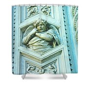 Angel Of Florence Shower Curtain