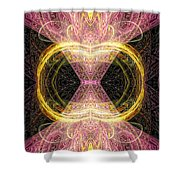 Angel Of Groups And Gatherings Shower Curtain