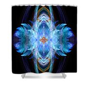 Angel Of Safe Travel Shower Curtain