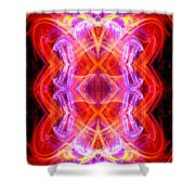 Angel Of Tantra Shower Curtain