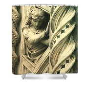 Angel Of The Basilica Shower Curtain