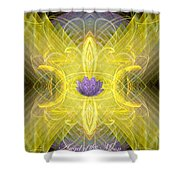 Angel Of The Moon Shower Curtain