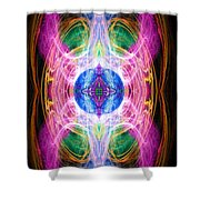 Angel Of Unity Shower Curtain