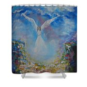 Angel Whisperings Shower Curtain