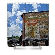 Angell's Deli Shower Curtain by Anjanette Douglas