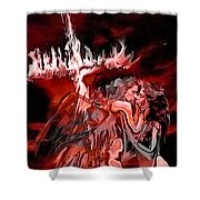 Angels Of Lust Shower Curtain