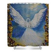 Angels Prayer Shower Curtain