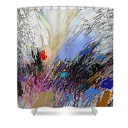 Angels Presence 3 Shower Curtain