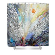 Angels Presence Shower Curtain