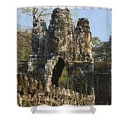 Angkor Archaeological Park II Shower Curtain