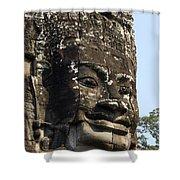 Angkor Thom Fae Shower Curtain