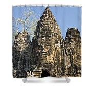 Angkor Thom II Shower Curtain