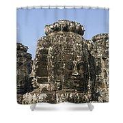 Angkor Thom IIi Shower Curtain