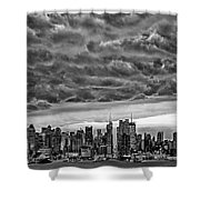 Angry Skies Over Nyc Shower Curtain