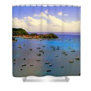 Anguilla's Softness Shower Curtain