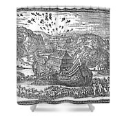 Animals Entering The Ark Shower Curtain