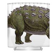 Ankylosaurus Magniventris Shower Curtain