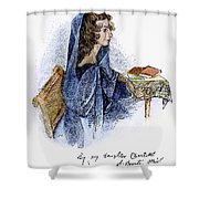 Ann Bronte (1820-1849) Shower Curtain by Granger