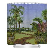 Ann Norton Garden Shower Curtain