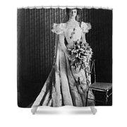 Anna Eleanor Roosevelt Shower Curtain