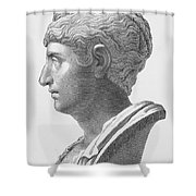 Anna Galeria Faustina Shower Curtain
