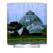 Anna Scripps Whitcomb Conservatory Shower Curtain