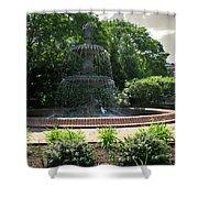 Annapolis Fountain Shower Curtain