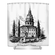 Annapolis: State House Shower Curtain