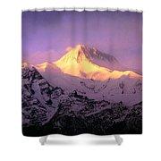 Annapurna South At Sunrise, Nepal Shower Curtain
