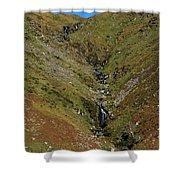 Annascaul Mountains Shower Curtain