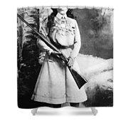 Annie Oakley (1860-1926) Shower Curtain