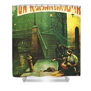 Annie's Love Story - Un Roman D'amour Shower Curtain